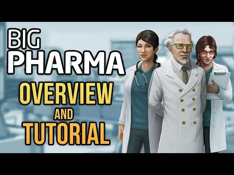 Big Pharma - HOW TO MAKE DRUGS - Overview & Tutorial ★ Let's Play Big Pharma