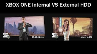 XBOX ONE Internal HDD VS Seagate 4TB External HDD