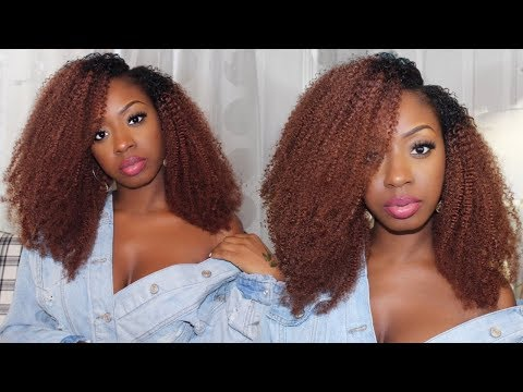 Amazing Beauty Hair Clip In Extensions| Kinky Curly Clip Ins, Natural Hair Clip Ins