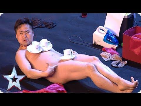 Mr Uekusa's UNBELIEVABLE strip show | Britain's Got Talent 2018