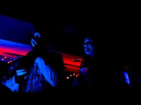 Stephanie and Josh Singing Karaoke at Midtown