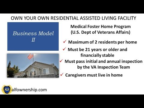 Business Model II of Residential Assisted Living Ownership Video 2 of 4