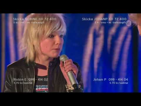 Johan Palm & Robin Ericsson - We built this city (Idol 2008)