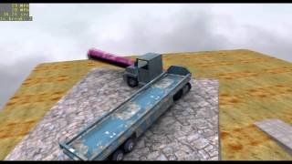 Tricky Truck First Self-Made Level