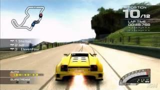 Ridge Racer 7 PlayStation 3 Gameplay - Yellow Drift