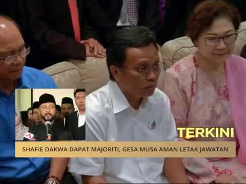 #MalaysiaMemilih: Shafie dakwa dapat majoriti, gesa Musa Aman letak jawatan