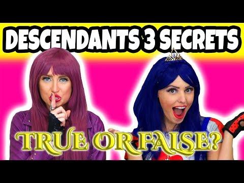 5 Descendants 3 Secrets Revealed. Are the Rumors About Decendants 3 True or False? (Totally TV)
