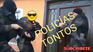 humor:los policias mas tontos🏆, torpes, y estupidos 🏆 del mundo