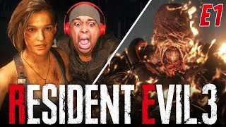THIS GAME IS A NIGHTMARE! I CAN'T FINISH THIS!! [RESIDENT EVIL 3] [#01]