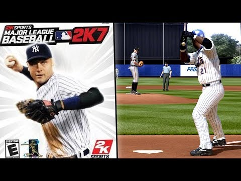 BARRY BONDS IS IN THIS GAME - Major League Baseball 2K7 Gameplay