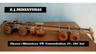 CHASSI DA MINIATURA VW 24 280 8X2 [ Contato (77) 9 8164 - 1763 thumbnail