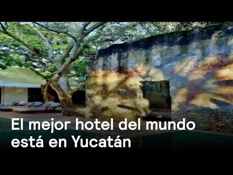 Hotel Chablé de Yucatán, el mejor del mundo según la UNESCO - Despierta con Loret