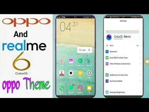 Oppo A3s Theme