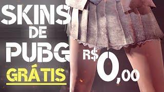 NOVAS SKINS de PUBG GRÁTIS SEM DEPOSITAR como ganhar skins de graça no pubg apostar skins de pubg