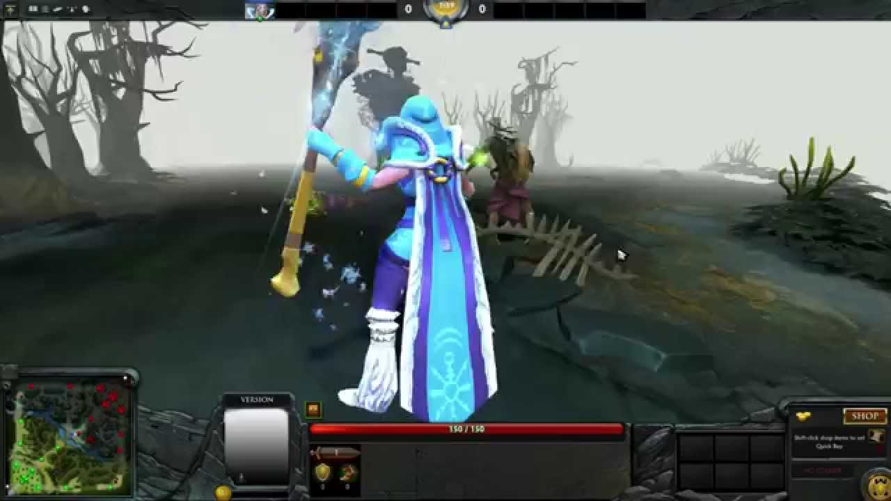 Crystal Maiden Dota 2 Immortals: Crystal Maiden's White Sentry [Immortal