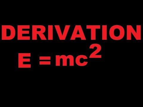 Derive Einstein mass energy relation by education study