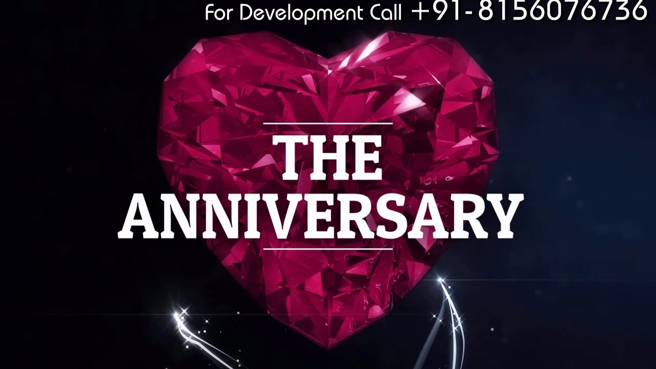 1st wedding anniversary invitation video in rs1200 only by 1st wedding anniversary invitation video in rs1200 only by eventvideocreators stopboris Images