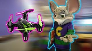 Chuck E Cheese Mini Drone Landing Trick