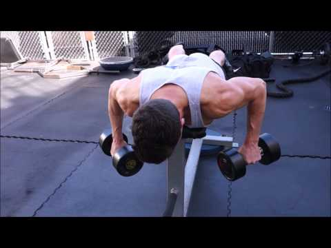 Lying Dumbbell Rear-Delt Row (Bigger Shoulders Series- Week 3: Workout 5)