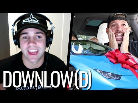 David Dobrik on Surprising His Best Friend With a New Lamborghini! | The Downlow(d)
