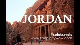 Jordan Travel Vlog Solo Trip 2016
