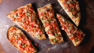 Simple and Delicious Mexican Bruschetta Recipe   SAM THE COOKING GUY