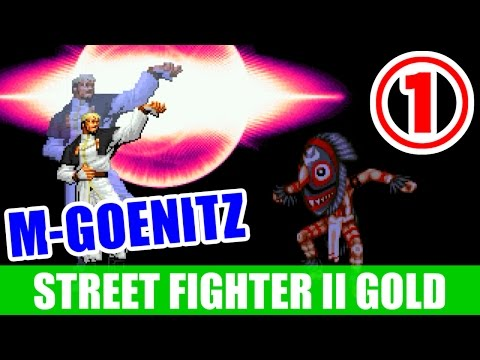 [1/2] M-GOENITZ - STREET FIGHTER II TURBO DASH PLUS SPECIAL LIMITED EDITION GOLD