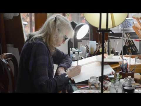 Studio Sessions – Botanical Artists Documentary Trailer 3