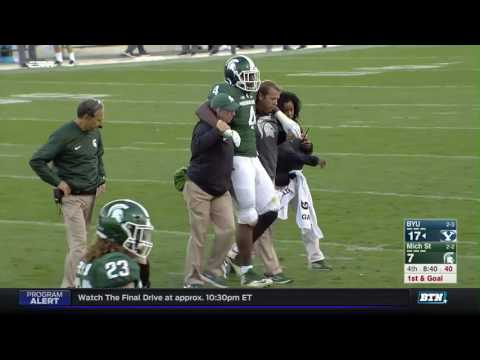 BYU at Michigan State - Football Highlights