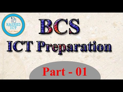 38 BCS ICT Preparation Part 1 By Rashed ICT