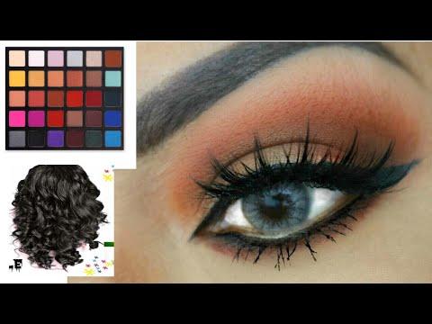 Arreglate Conmigo Maquillaje Y Peinado 2018/ glamour/ hair /style /makeup