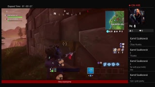 Fortnite season 4 stream trying to get omega (Hype)