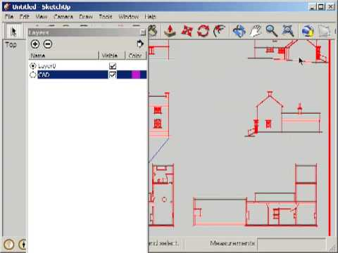 Google sketchup importing cad youtube for Sketchup import