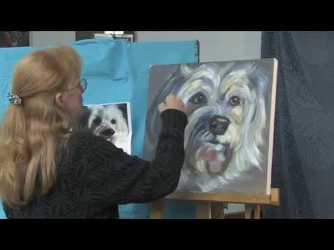 Dog Demonstration Art Instruction Video