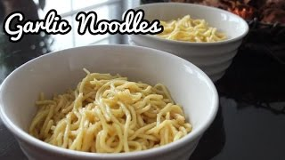 Garlic Noodles (Inspired by the famous An Family Recipe)