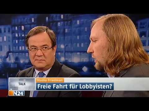 Studio Friedman: Lobbyismus in Deutschland! (Sendung vom 14.11.2013)