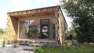 Kunstobjekt Palettenhaus - genial einfach mit vielseitigem Einsatz