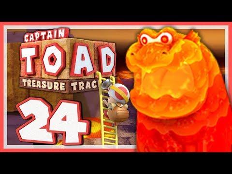 CAPTAIN TOAD: TREASURE TRACKER #24: Die Lage wird langsam brenzlig! [1080p] ★ Let's Play