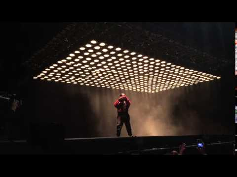 Blkkk Skkkn Head - Kanye West Paradise International Music Festival