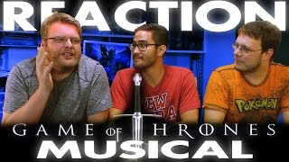 Game of Thrones Musical REACTION ColdPlay Red Nose Day