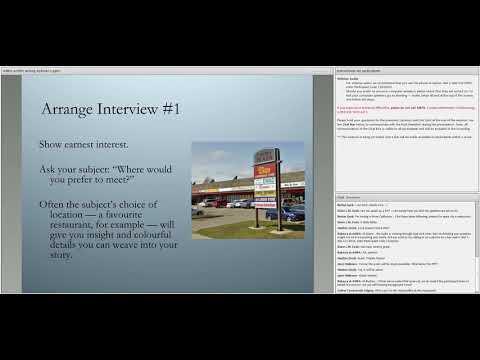 Writing Profile Stories with Jeremy Klaszus