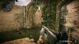 Warface gameplay on Asus HD Radeon 7750 - Max settings