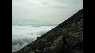 Mt Katahdin - Cathedral trail - Baxter - Knife Edge - Pamola