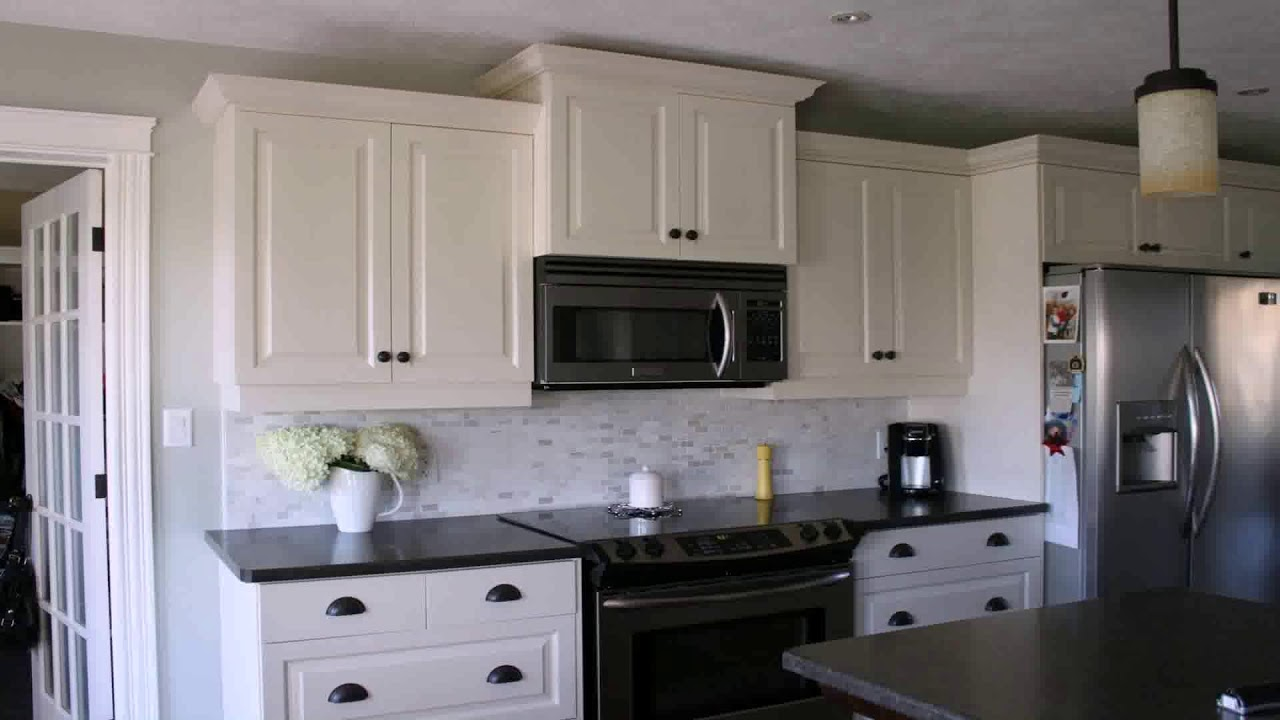 Kitchen Backsplash Ideas White Cabinets Black Countertops Youtube