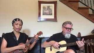"""Scott & Melly - covering """"Andaikan Kau Datang"""" by Koes Plus - Koes Bersaudara - Koes Brothers."""