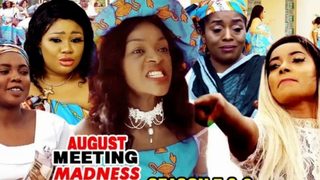 Download AUGUST MEETING MADNESS {Soundtrack} - Chacha Eke 2020 Latest Nigerian Nollywood Movie