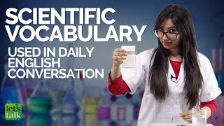 Download Learn Scientific English Vocabulary used in daily English conversations | Improve your English Mp3 and Videos