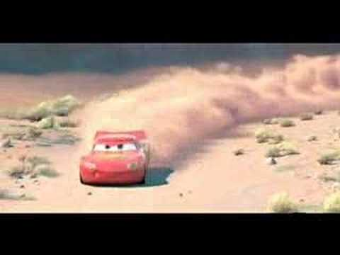Cars The Race With Doc Scene Youtube