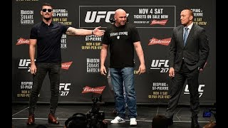 UFC 217: Bisping vs St-Pierre Toronto Press Conference