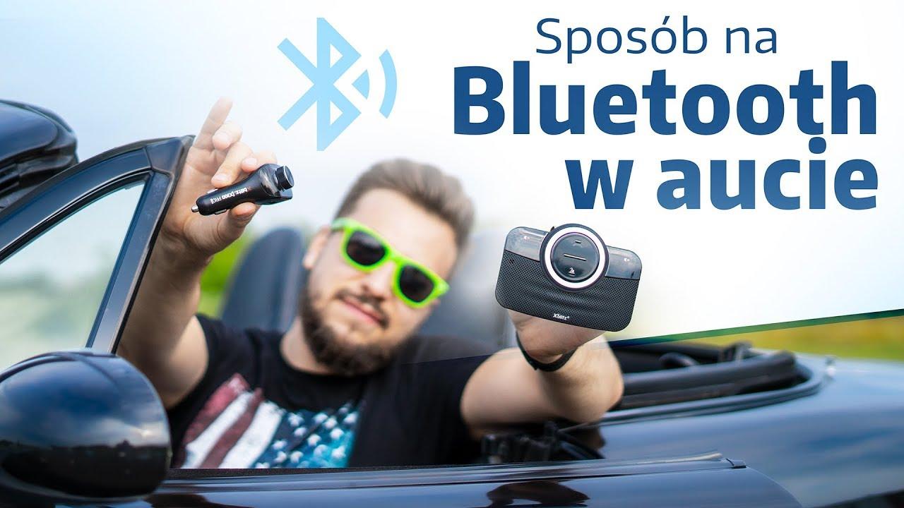 Bluetooth w starszym aucie - Xblitz X300 Pro i X1000